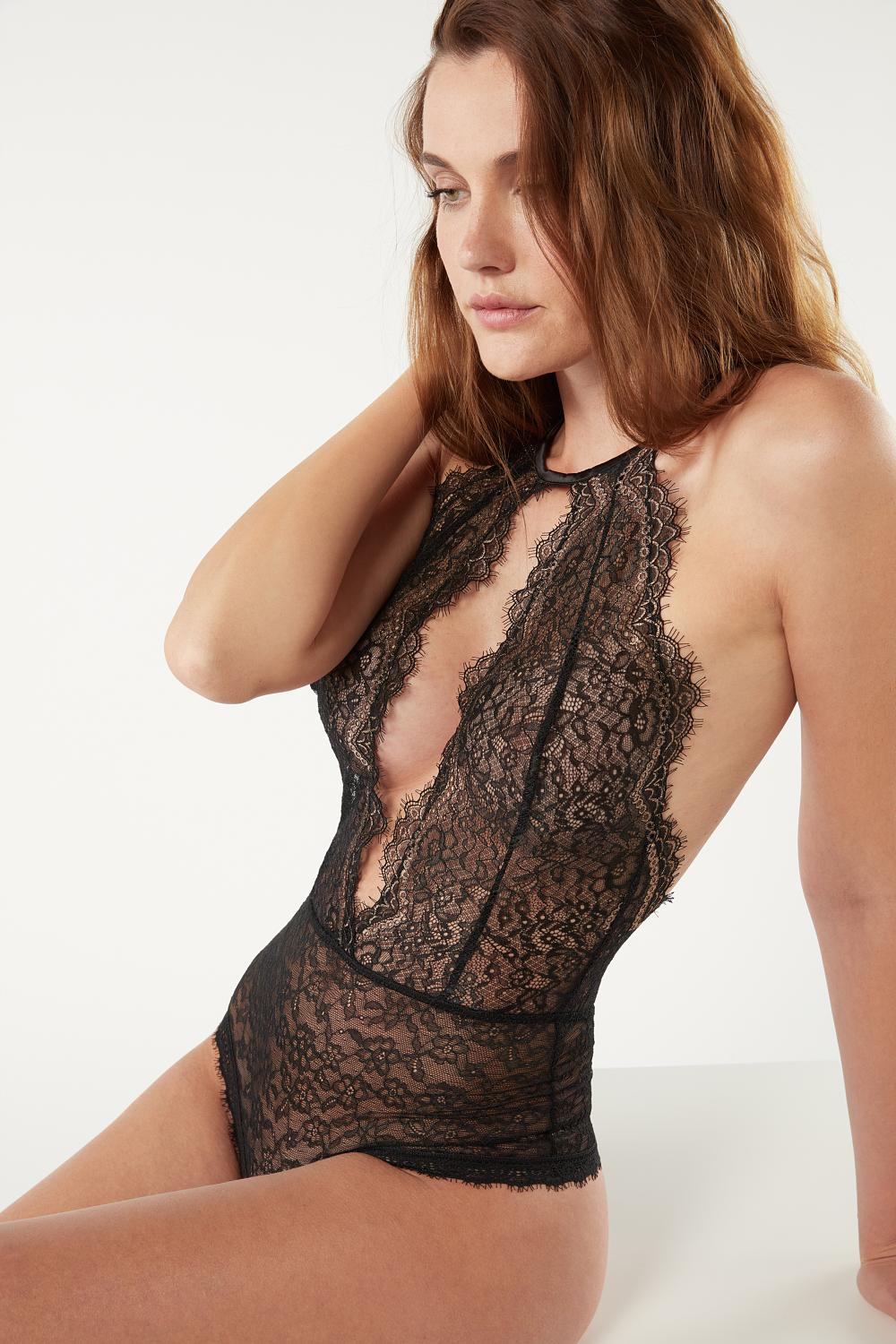 My Golden Touch Lace Body