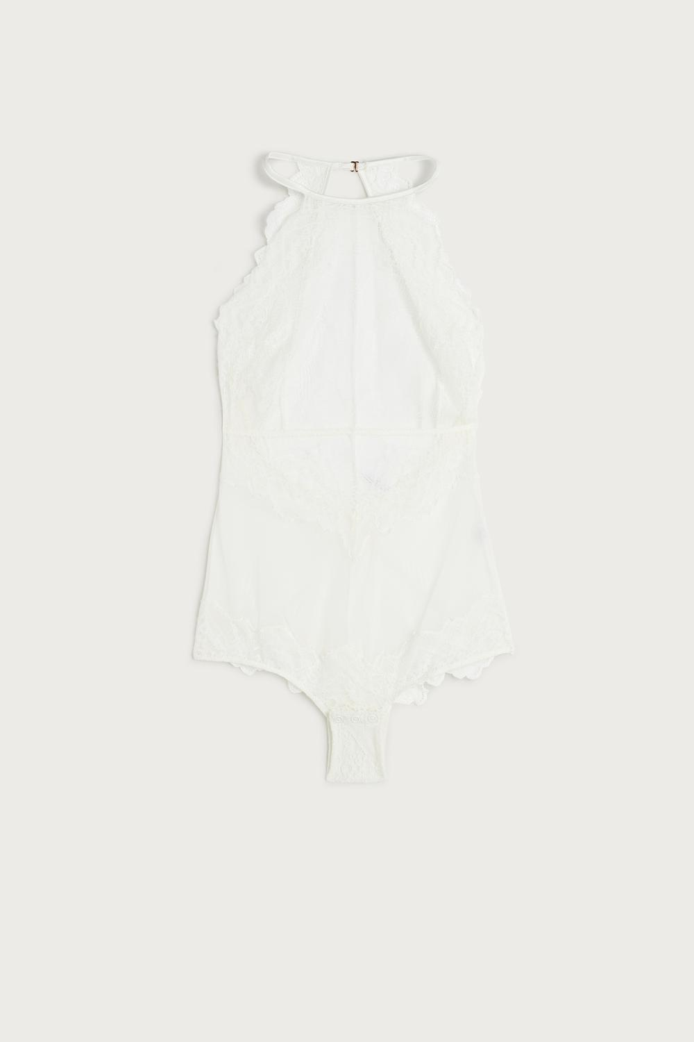 Body in Pizzo e Tulle Lady Sheer