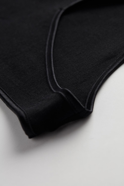 Camisola Sem Mangas Canelada Lã e Seda Decote em V