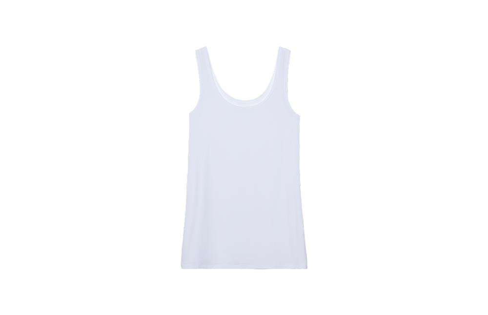 Modal Vest Top with Racer Back