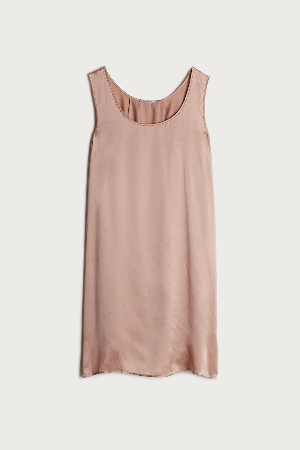 Long Silk Camisole
