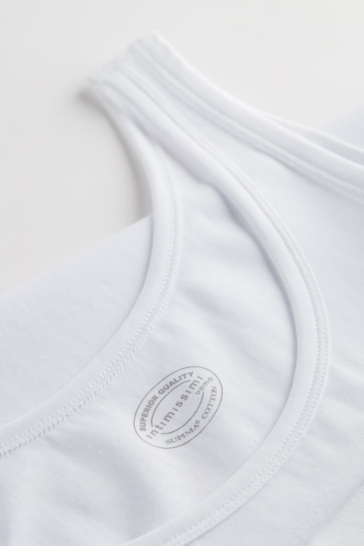 Ärmelloses Trägerhemd mit Rundem Halsausschnitt