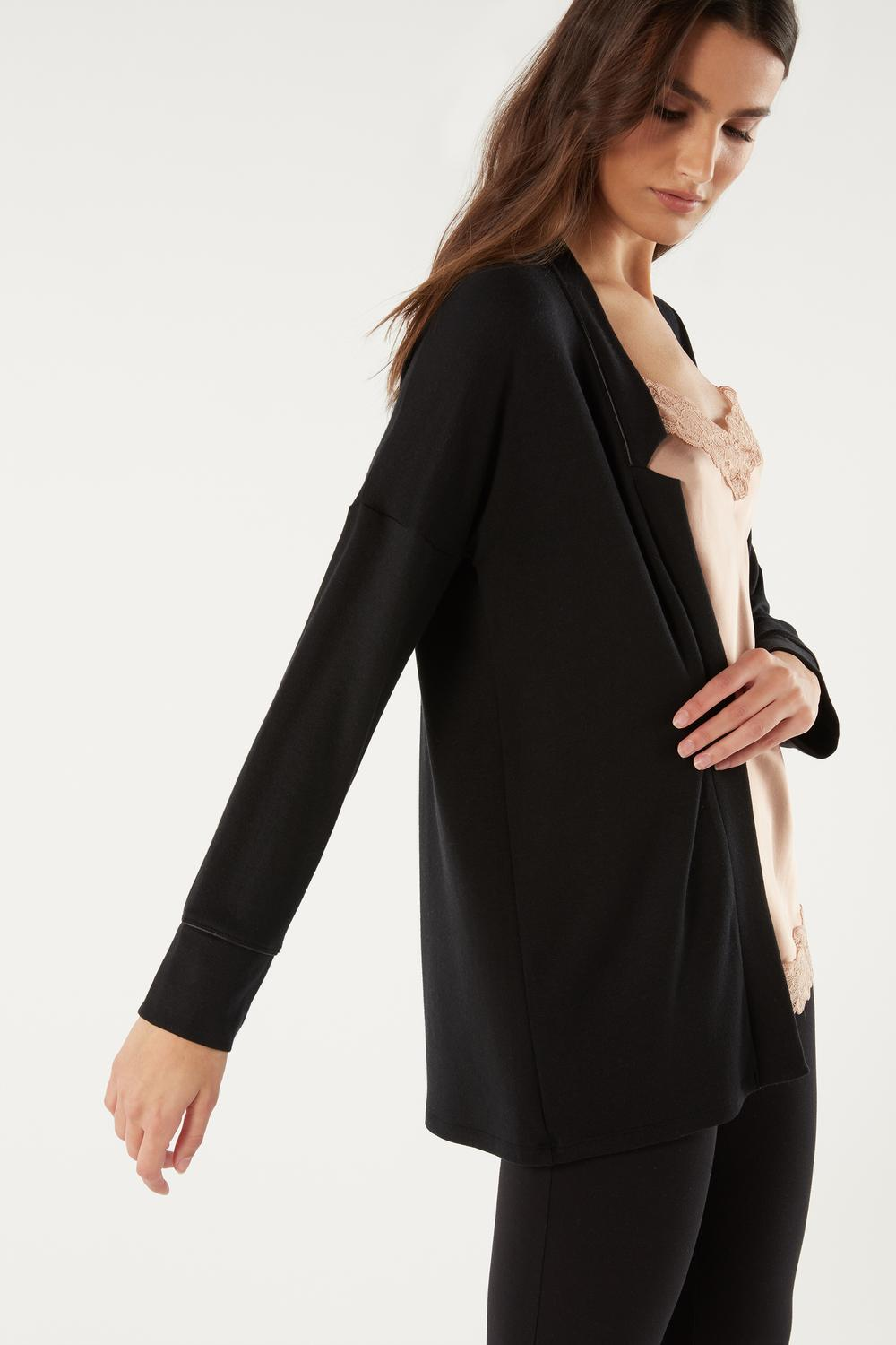 Modal and Cashmere Cardigan