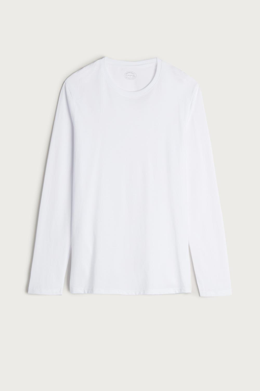 Langarmshirt aus Baumwolle Supima®