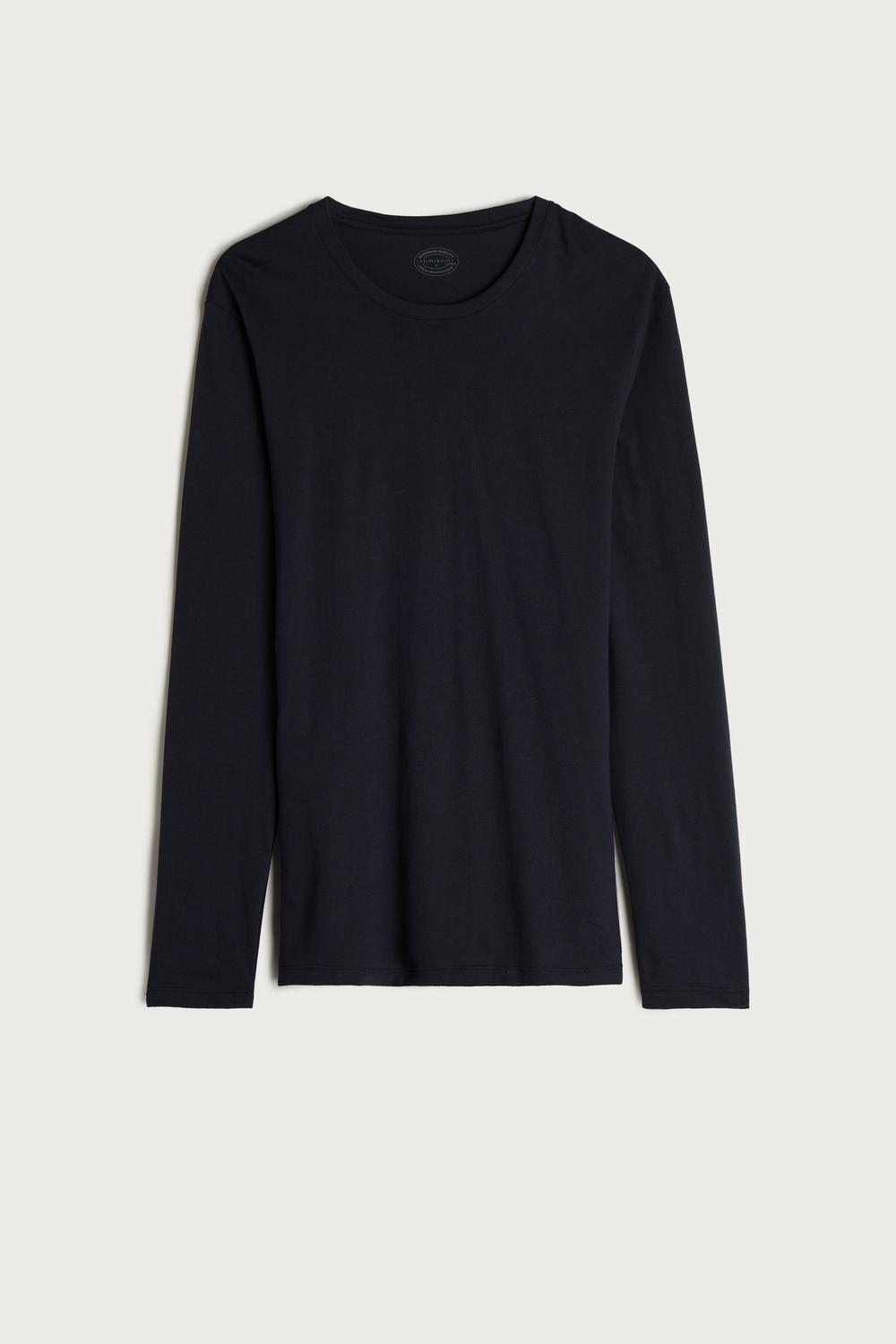 Long-Sleeve Supima® Cotton Top