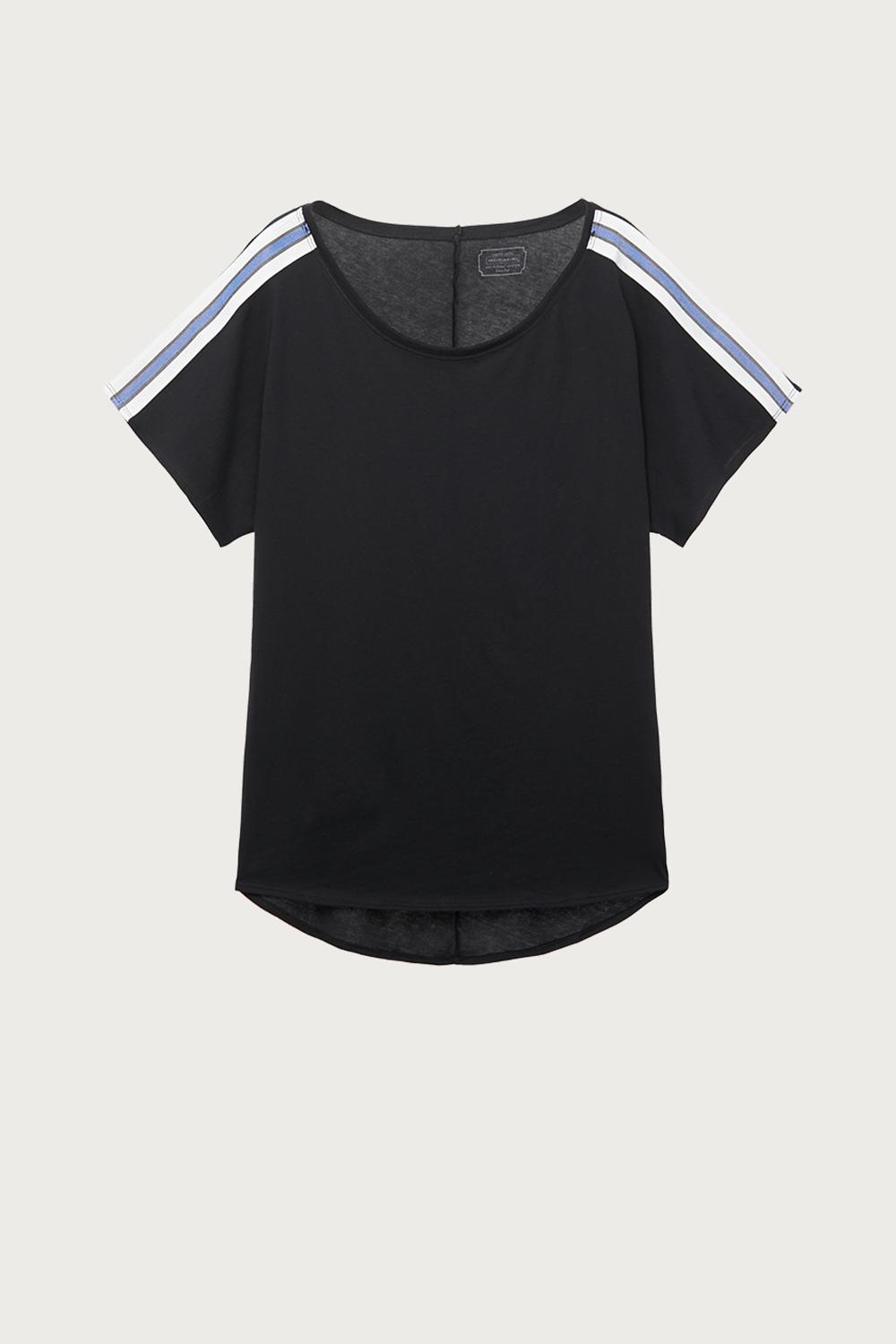 Extrafine Supima Cotton t-shirt with stripes