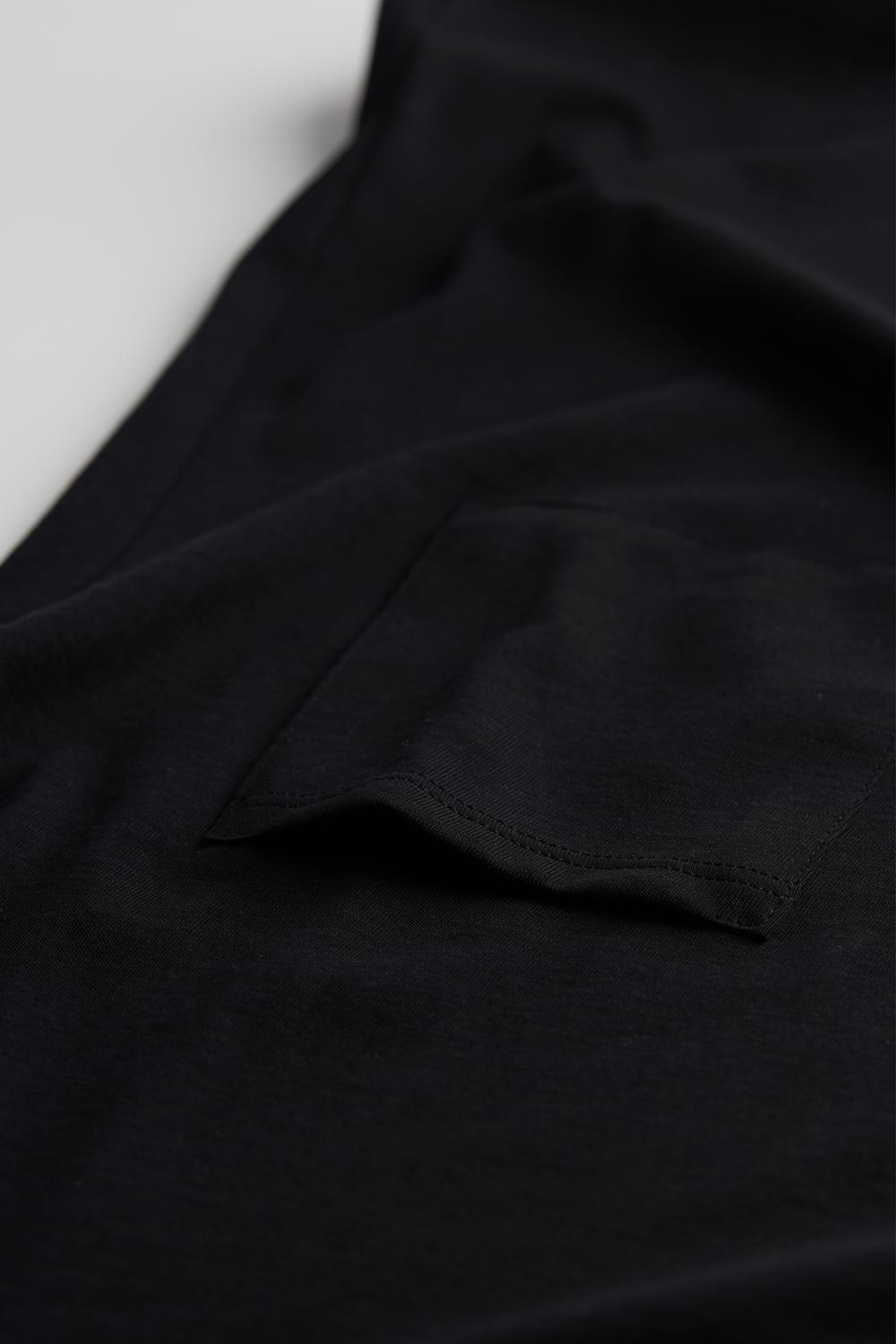 Short-Sleeved Extrafine Supima® Cotton Top
