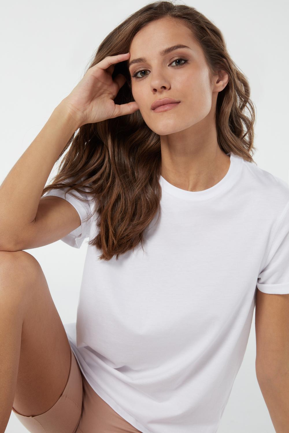 Short-Sleeved Supima® Cotton Top