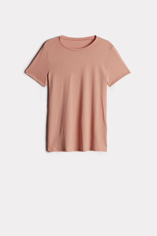 T-shirt Manches Courtes en Coton  Supima® Extra Fin