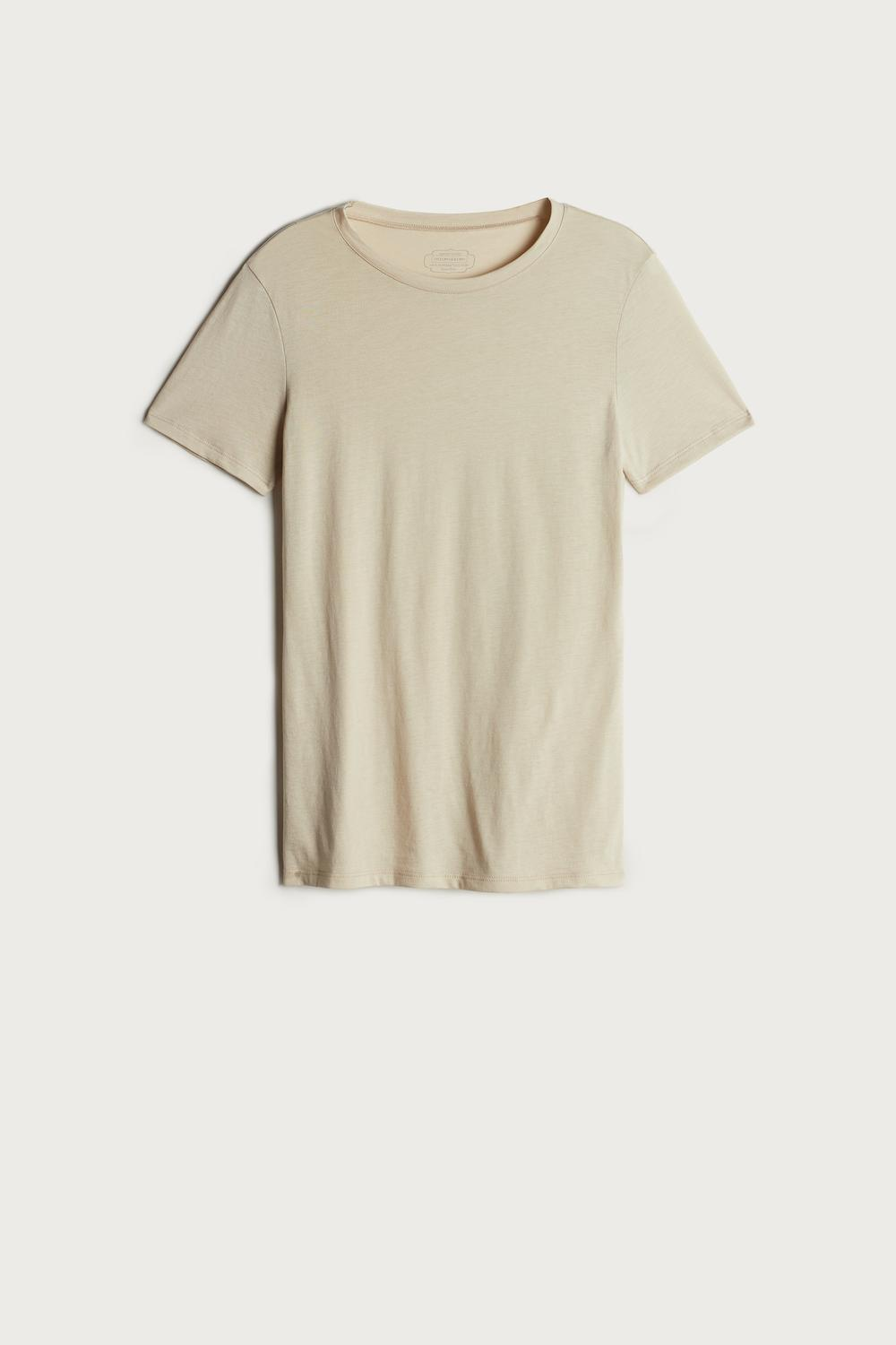 Short-Sleeve T-shirt in ExtraFine Supima® Cotton