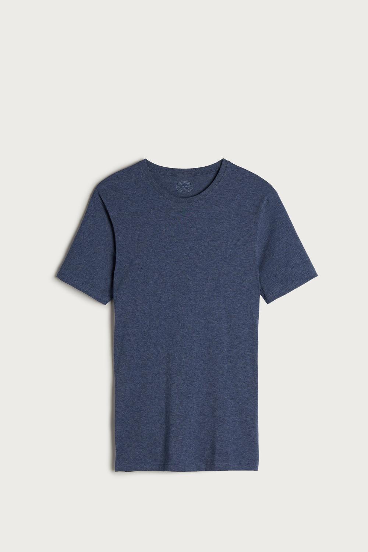 Shirt Rundhalsausschnitt aus Supima®-Baumwolle