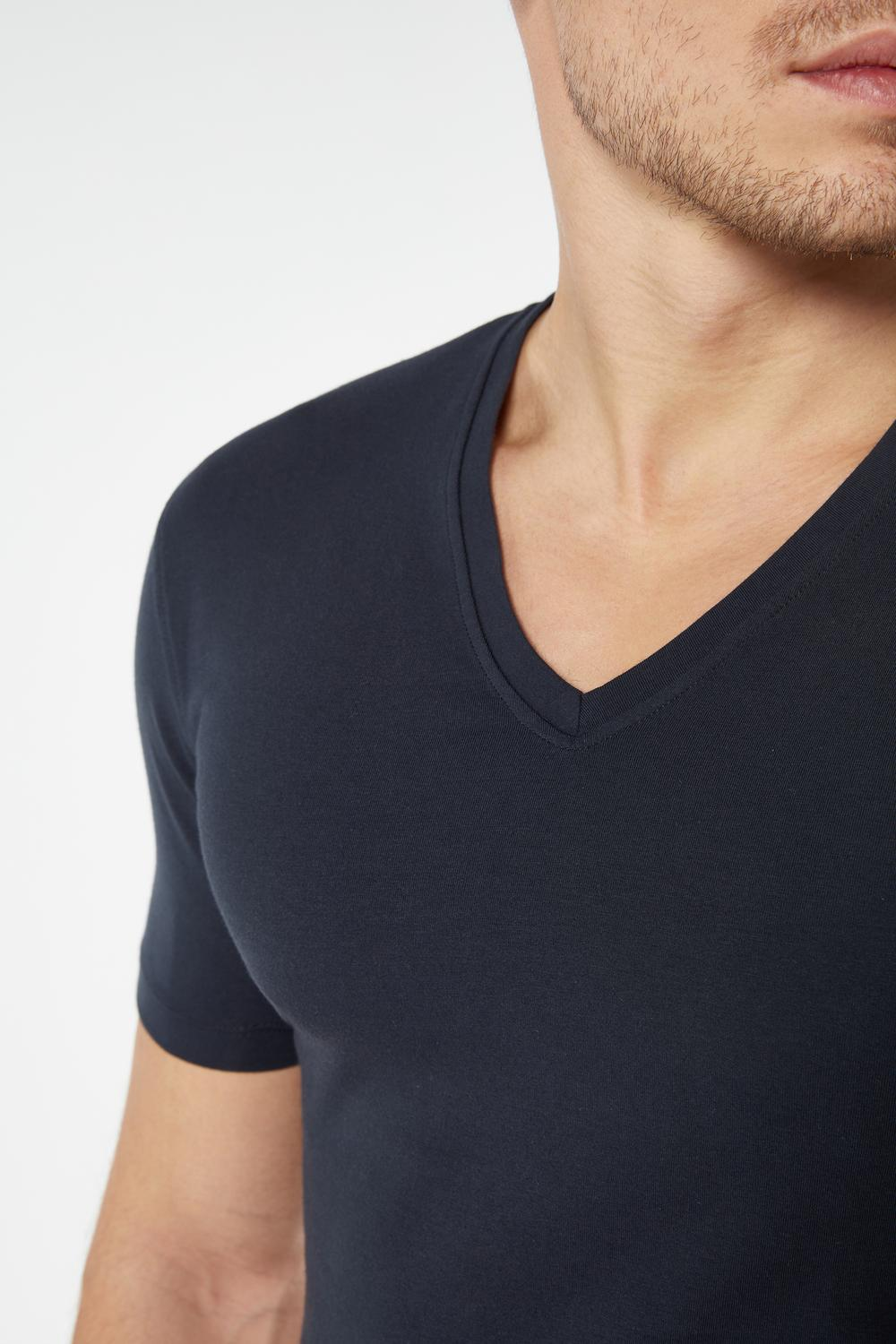Supima® Cotton V-Neck T-Shirt