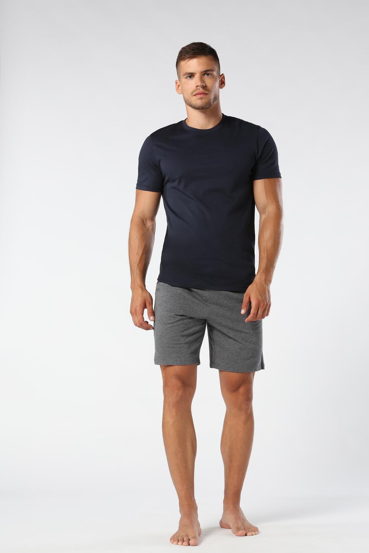 T-Shirt à Manches Courtes et Col Rond en Coton Supima®