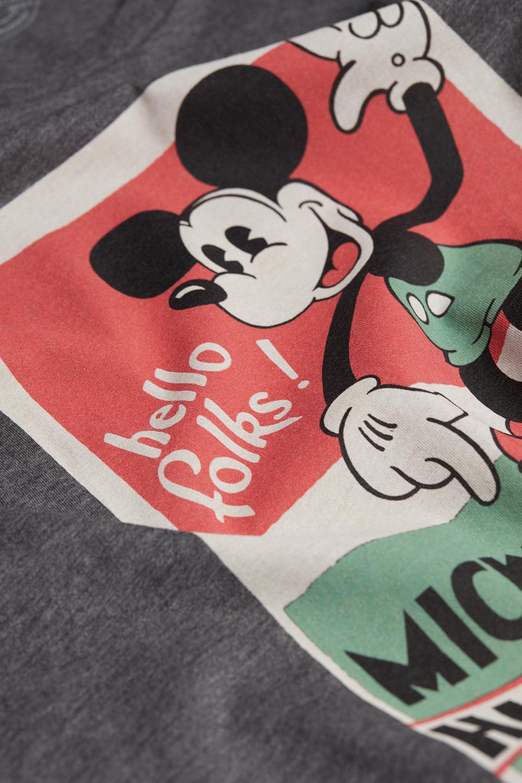 Halbarmshirt aus Supima-Baumwolle Disney© Vintage