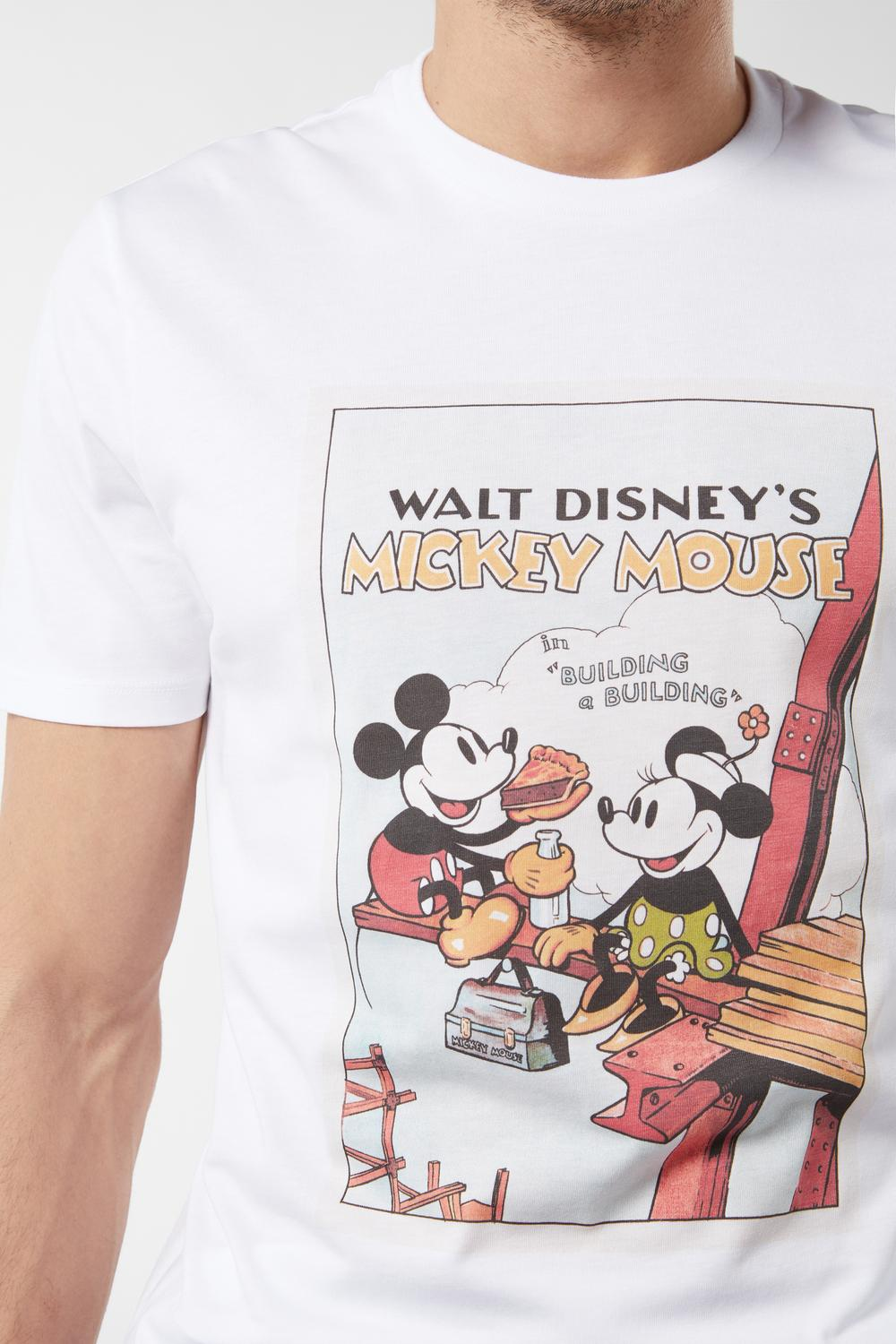 Vintage Disney© Supima Cotton Short-Sleeved Top