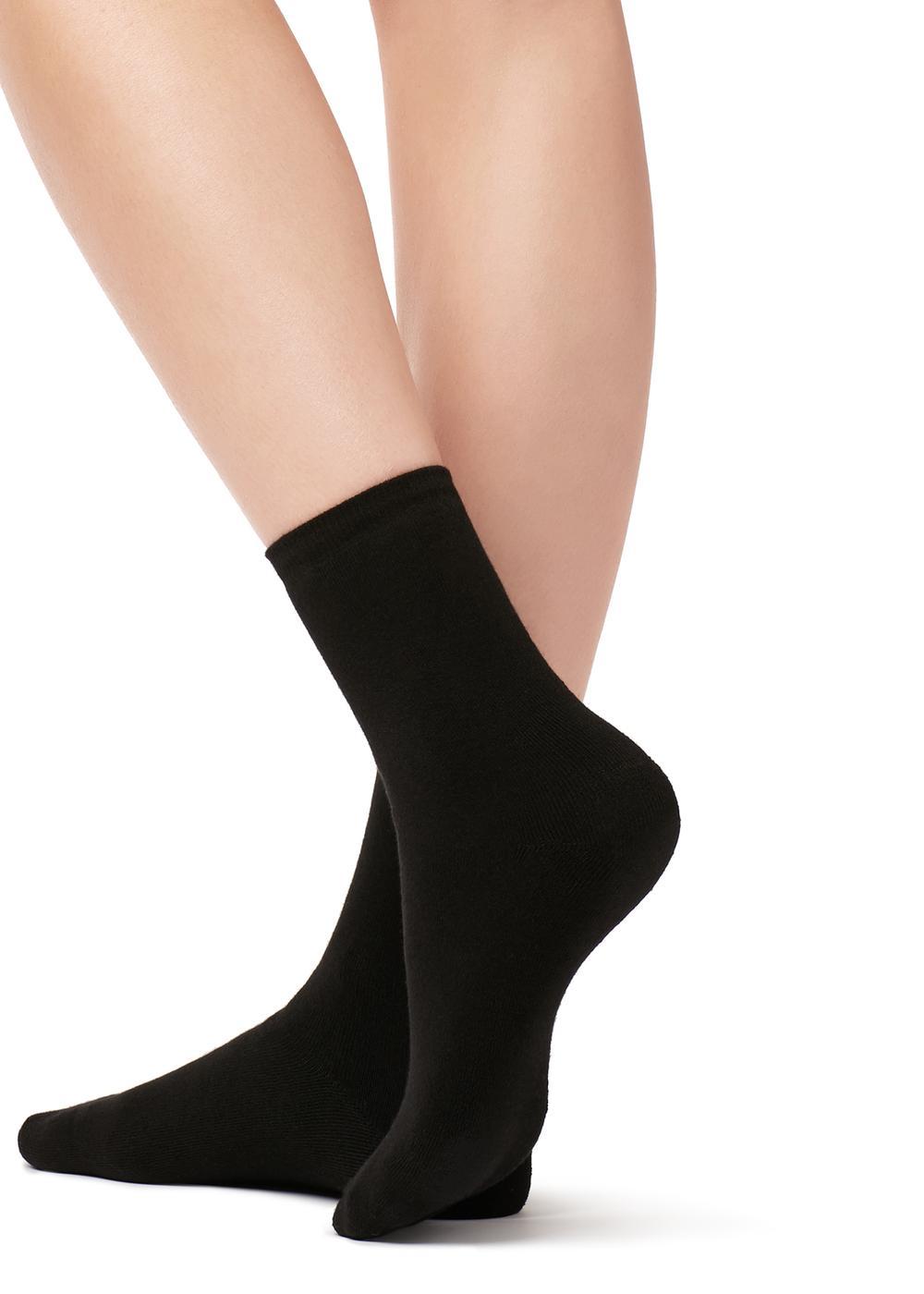Nízke bavlnené termo ponožky