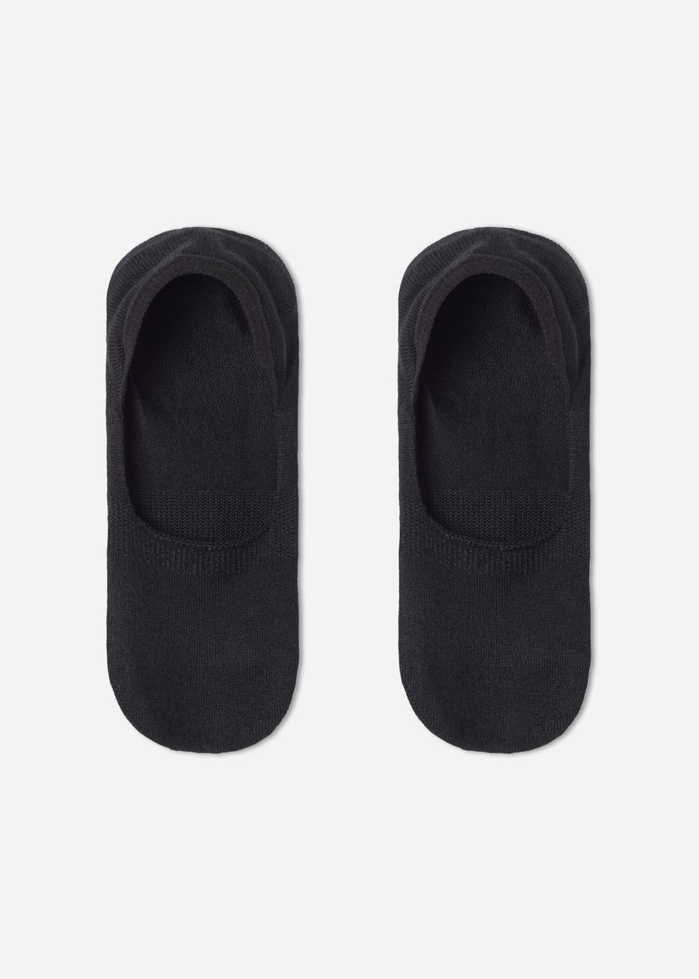 Stretch Cashmere No-Show Socks