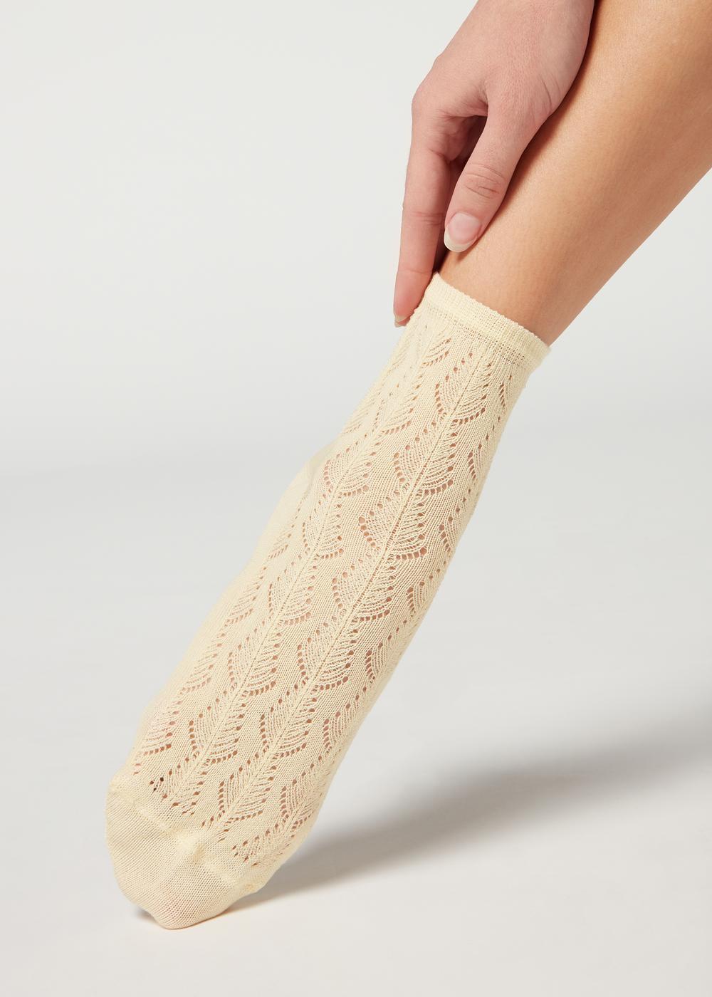 Calcetines Calados Algodón