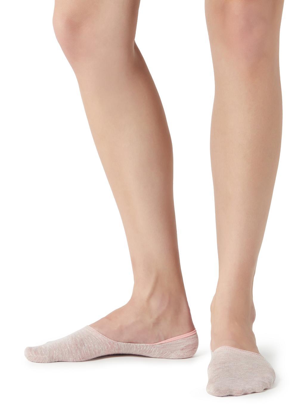 Chaussettes invisibles avec lin