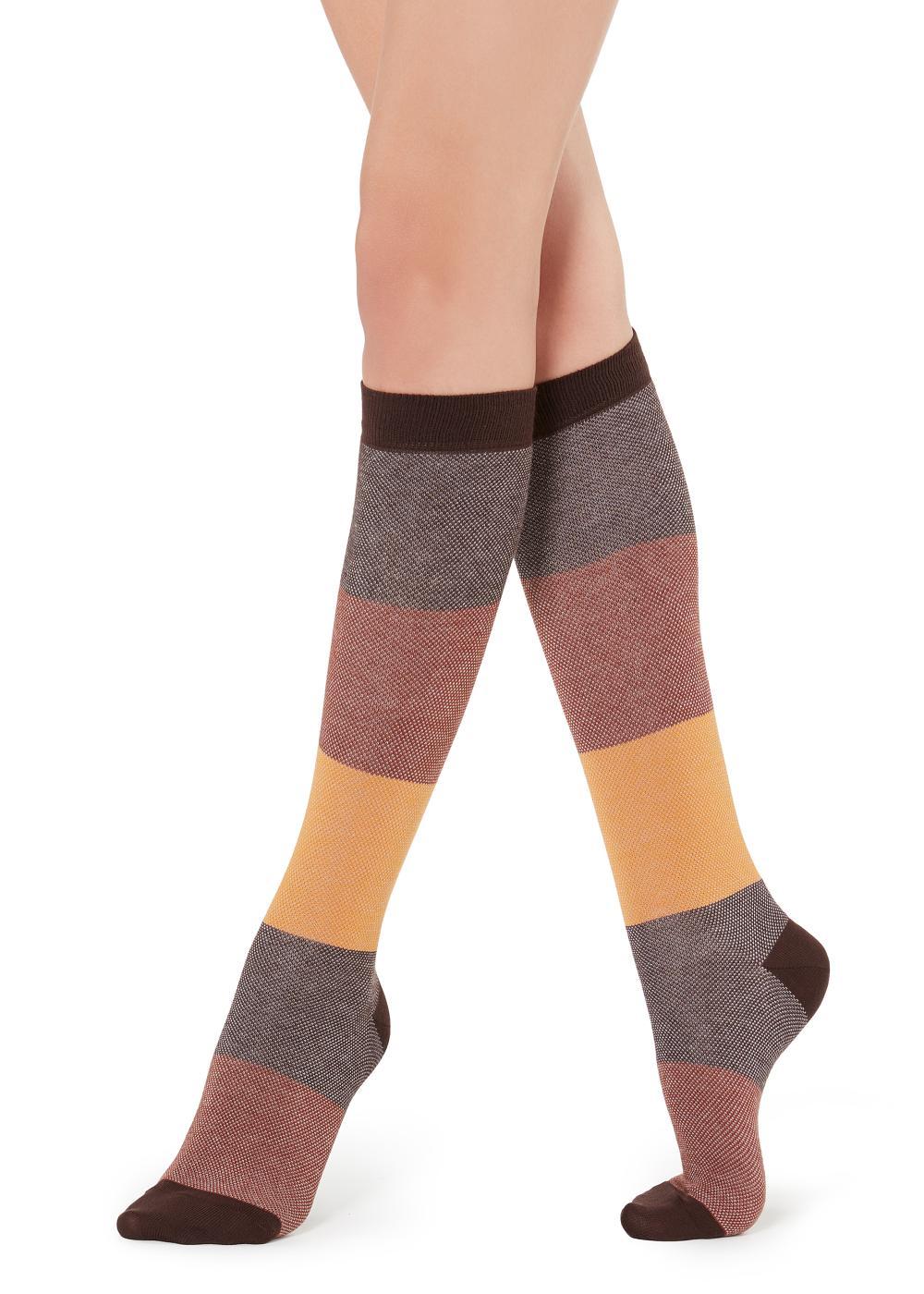Long Patterned Socks