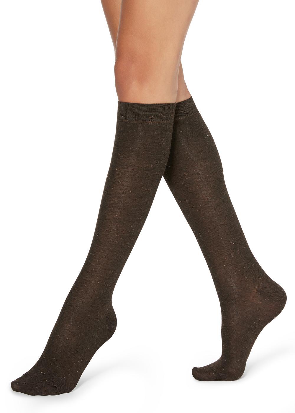 Patterned Knee-High Socks