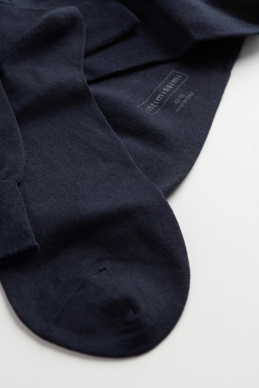 Calze Corte in Cashmere Seta e Cotone