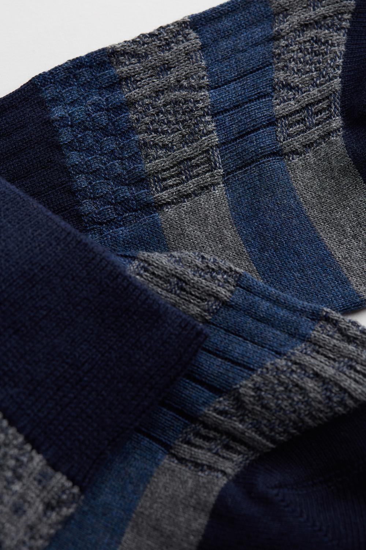 Short Cotton Socks in Different Patterns