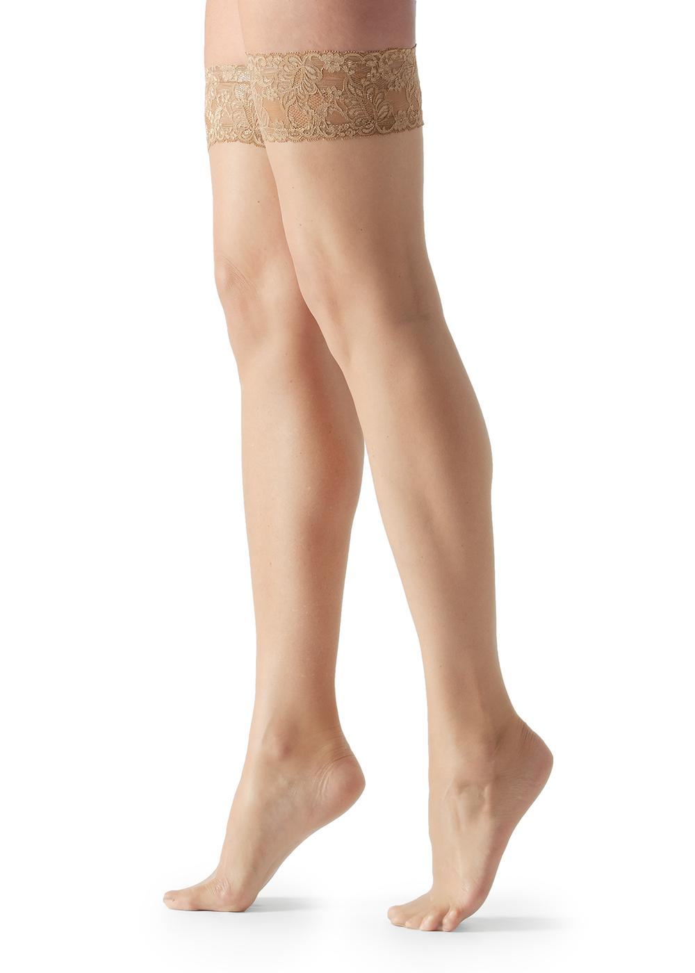 8 Denier Ultra Sheer Thigh-Highs