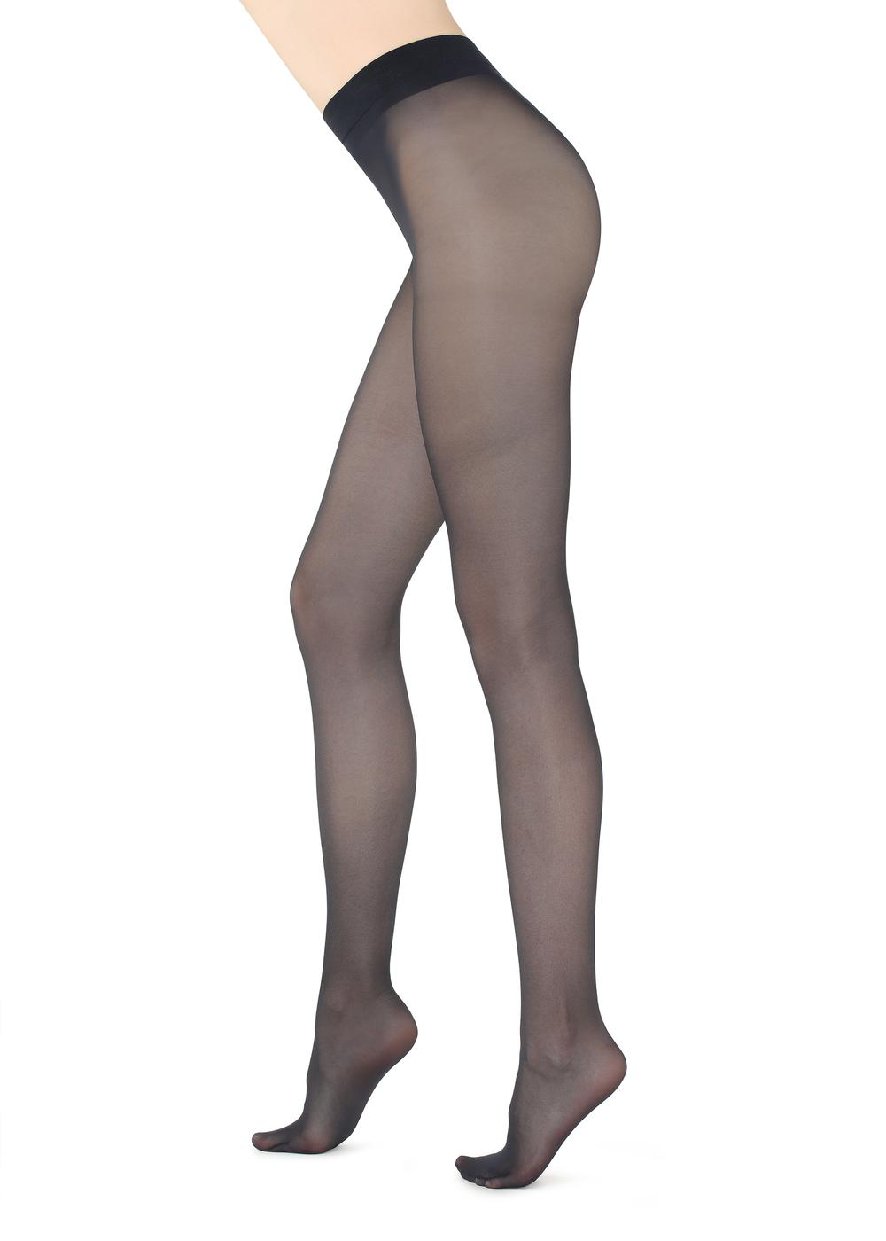 30 Denier Sheer Shaping Tights with Control Top