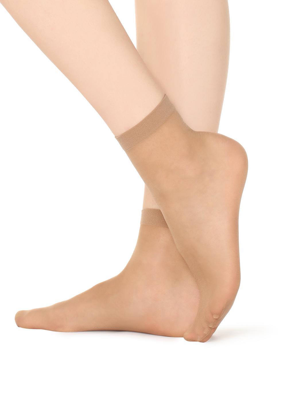 20 Denové Priehľadné Ponožky
