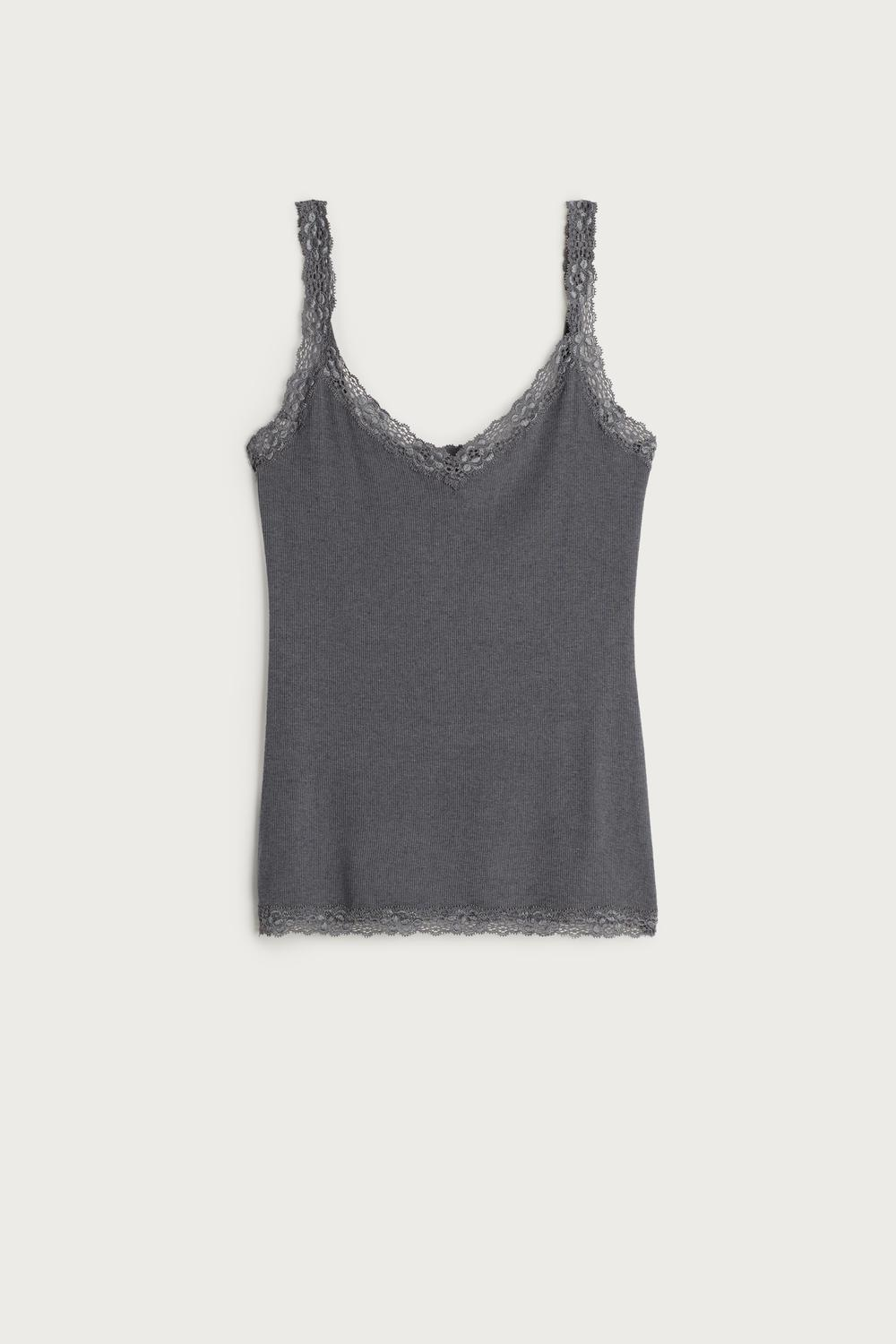 Top a Coste in Modal Cashmere Ultralight