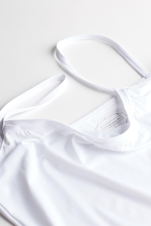 Trägerhemd mit schmalen Trägern aus leichter Mikrofaser