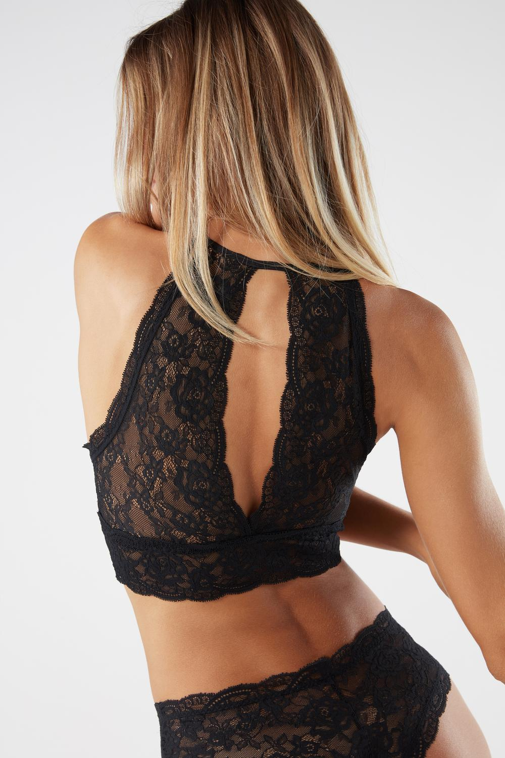 Top Bra in Pizzo Lycra® Lace