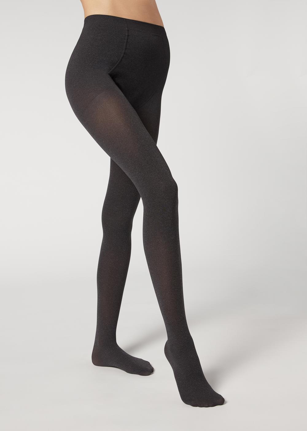 Těhotenské punčochové kalhoty 60 DEN