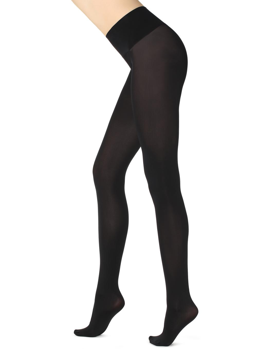 50-Denier Opaque Seamless Invisible Tights