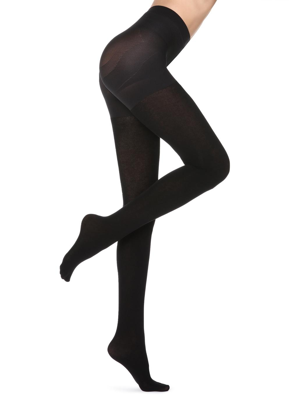 Total shaper cashmere tights