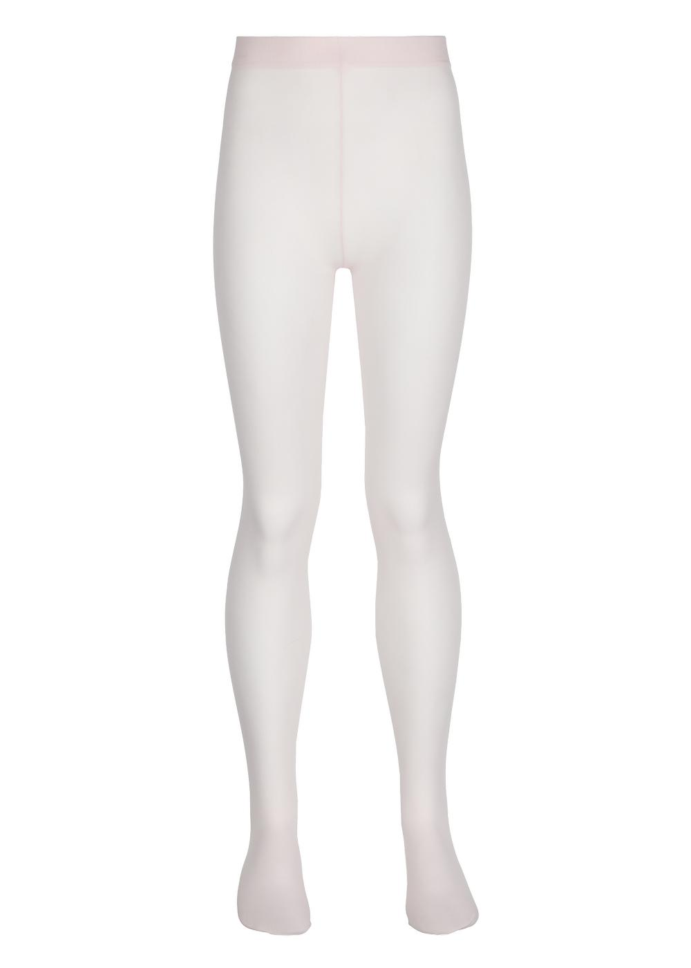 Sheer patterned girls' tights