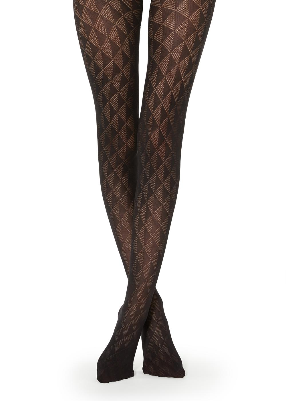 Triangle Motif Tights