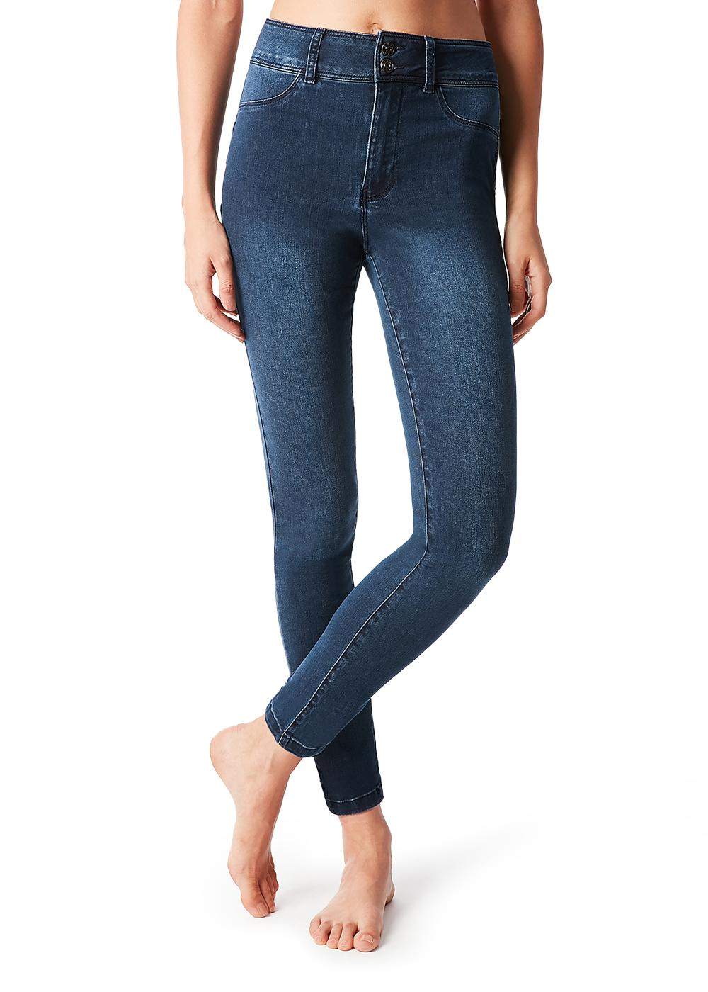 Jeans Push Up Taille Haute