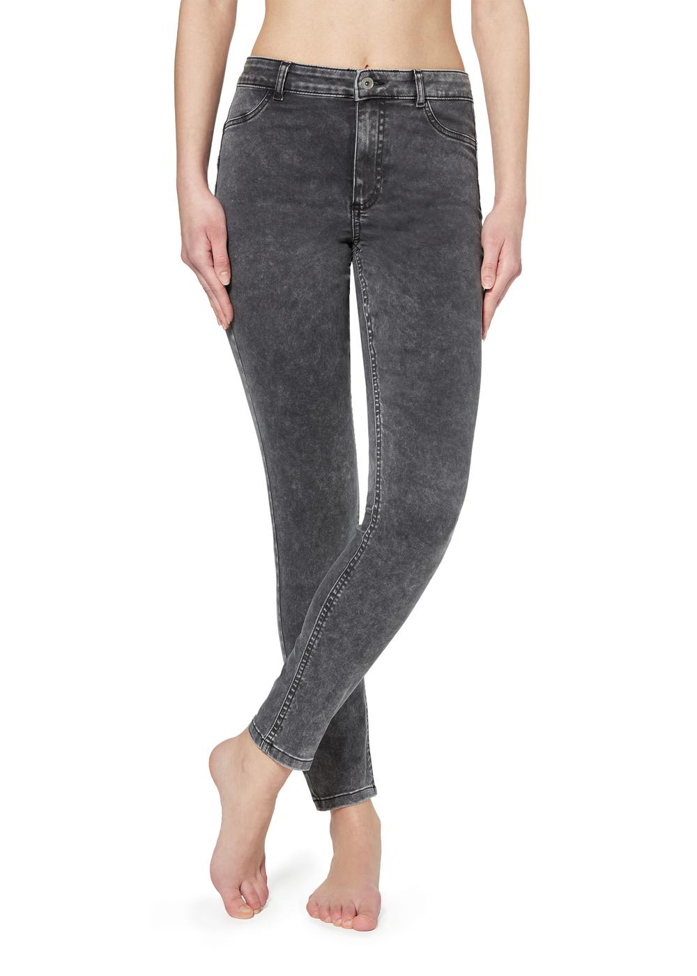 Push-up and soft touch jeans