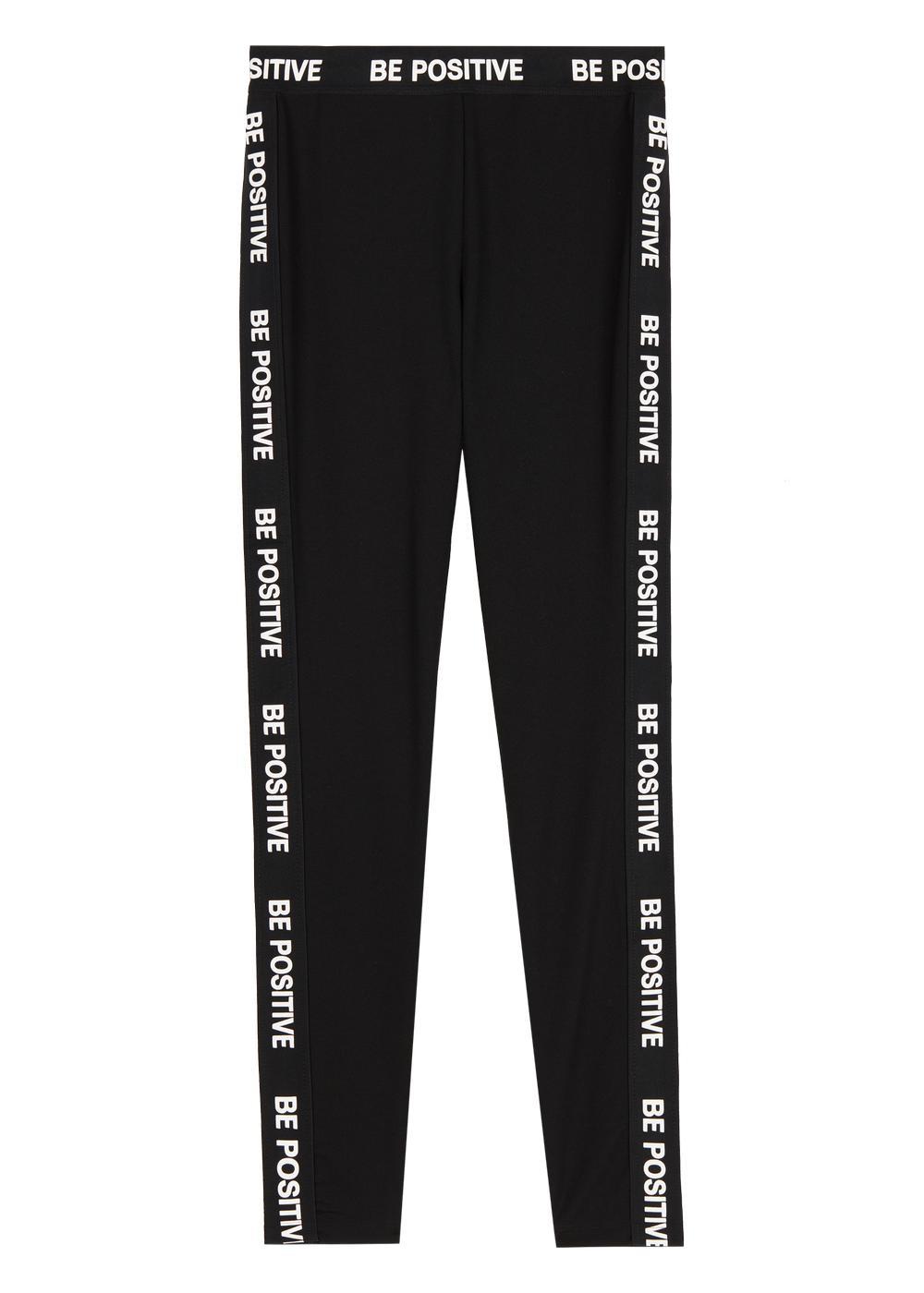 Printed stretch shaper leggings