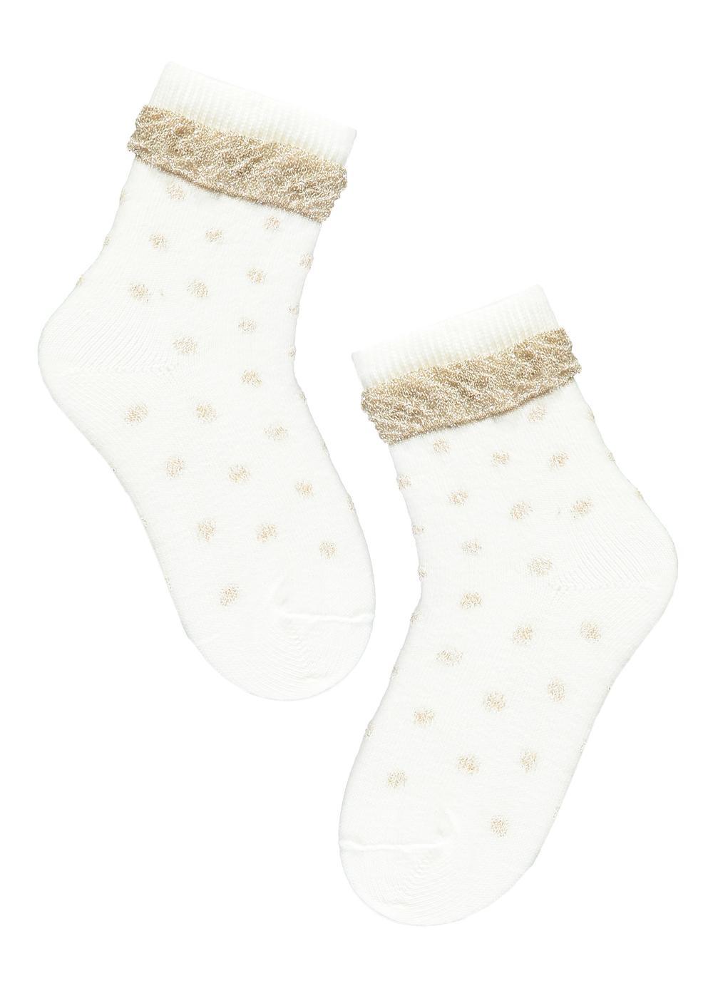 Baby Short Patterned Cotton Socks