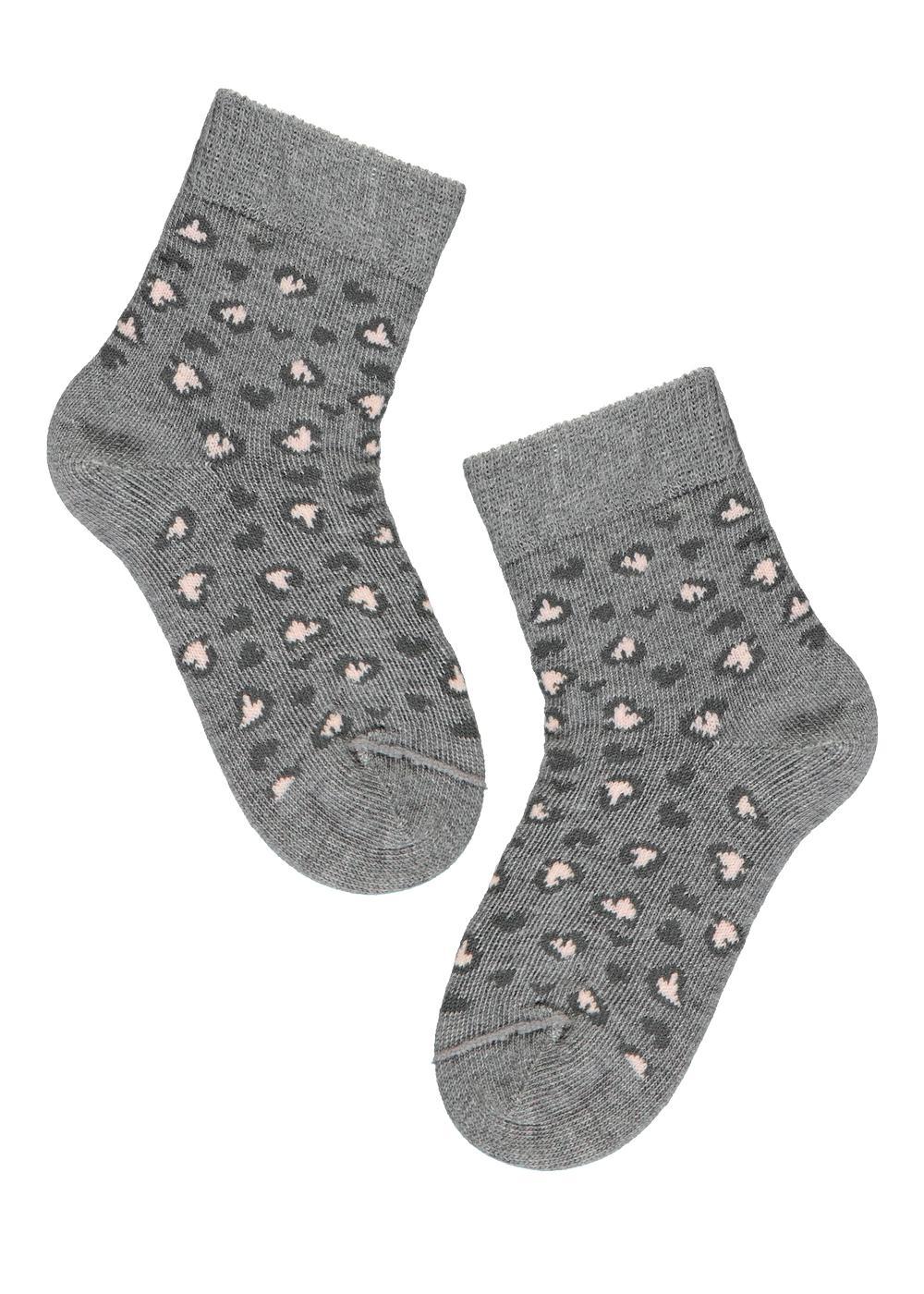 Chaussettes courtes en coton à motifs pour bébé