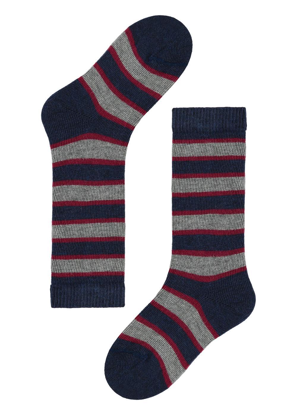 Baby Long Patterned Cotton Socks