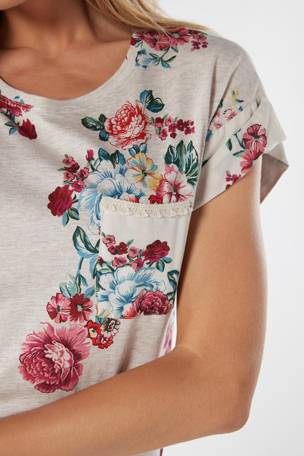 Flower Bouquet Supima® Shortsleeve Nightgown