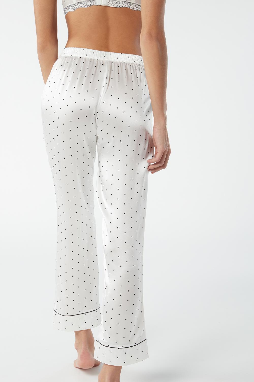 Lace Desire Silk Trousers