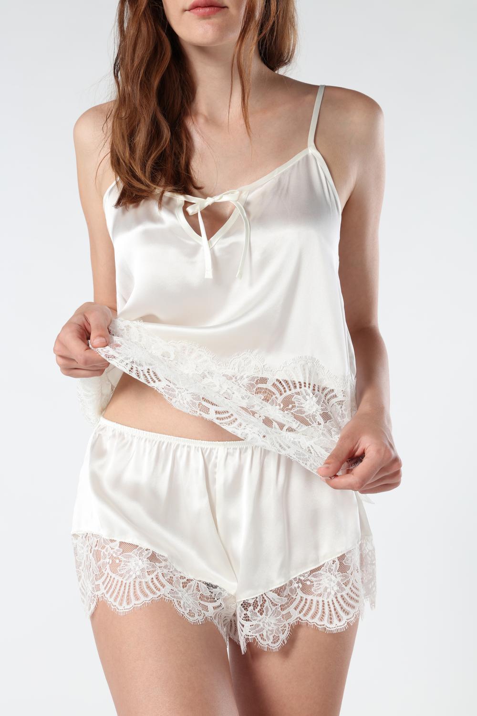 Timeless Elegance Silk Shorts