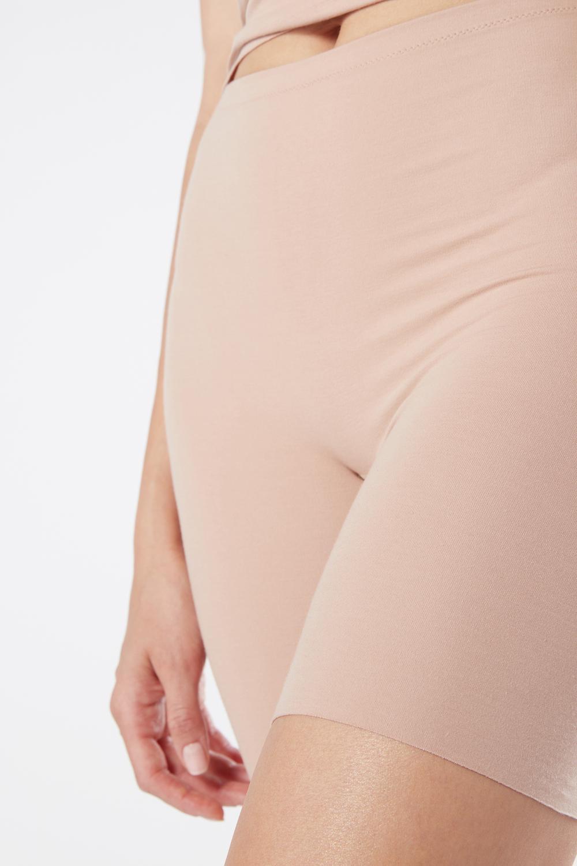 Kurze Hose aus Supima® Baumwolle ohne Nähte