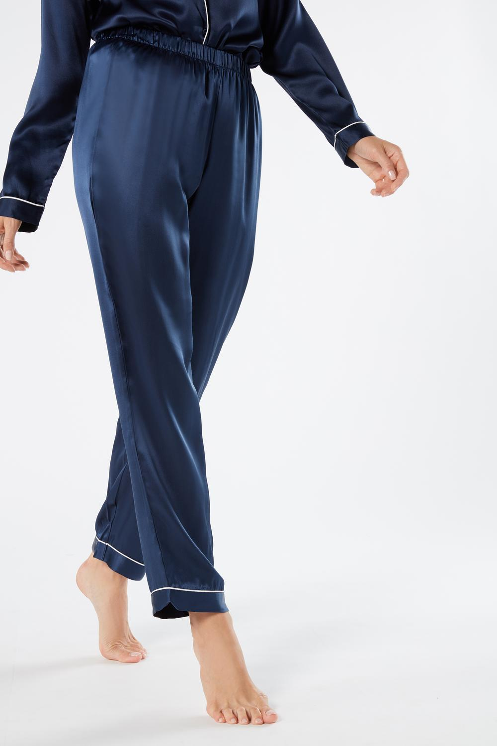 Silk Satin Trousers