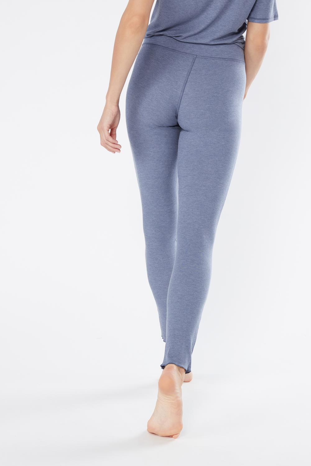 Leggings a Costine in Modal Melange